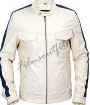 Need For Speed Aaron Paul White Jacket