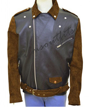 Route 66 Billy Connolly Biker Jacket