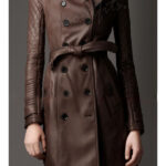 Castle Kate Beckett Leather Trench Coat-600x900h