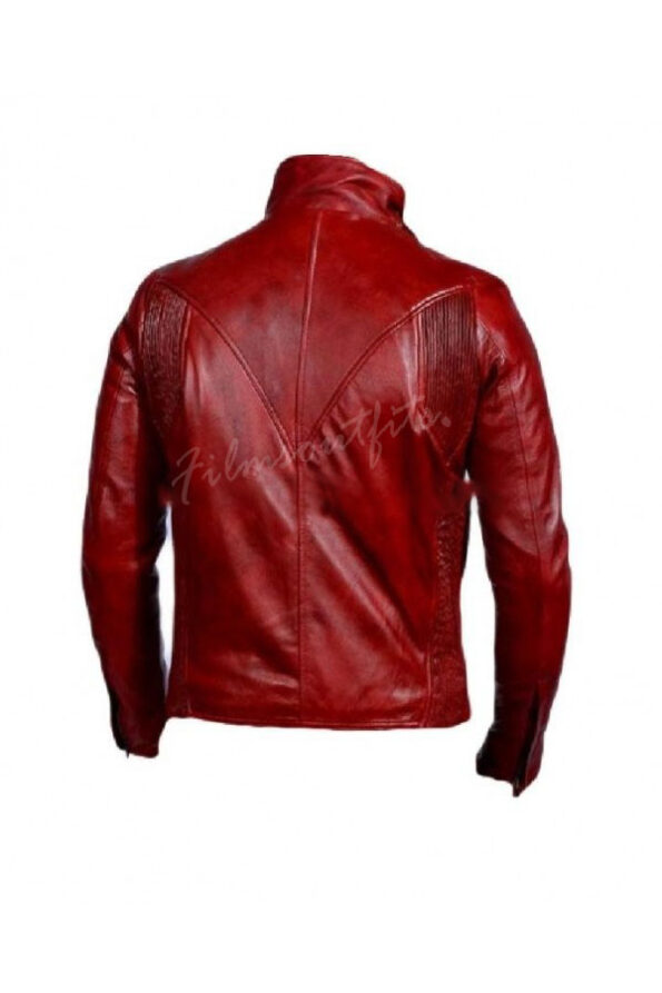 Comic Daredevil Red Leather Jacket