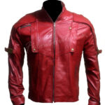 Peter Quinn Guardians of the Galaxy red leather jacket-600x900w