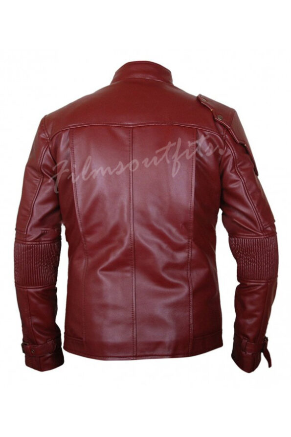 Star Lord Guardians Of The Galaxy 2 Leather Jacket-600x900w
