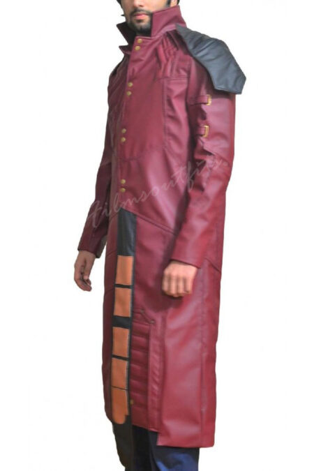 """Guardians of the Galaxy Star Lord """"Peter Quill"""" Leather Coat"""