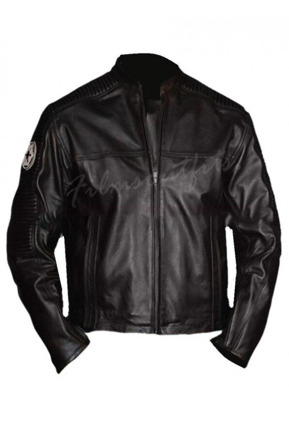 Star Wars Imperial Racing Leather Jacket
