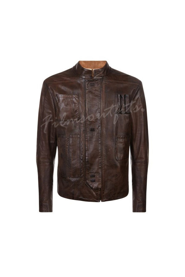 Star Wars The Force Awakens Han Solo Leather Jacket-600x900w