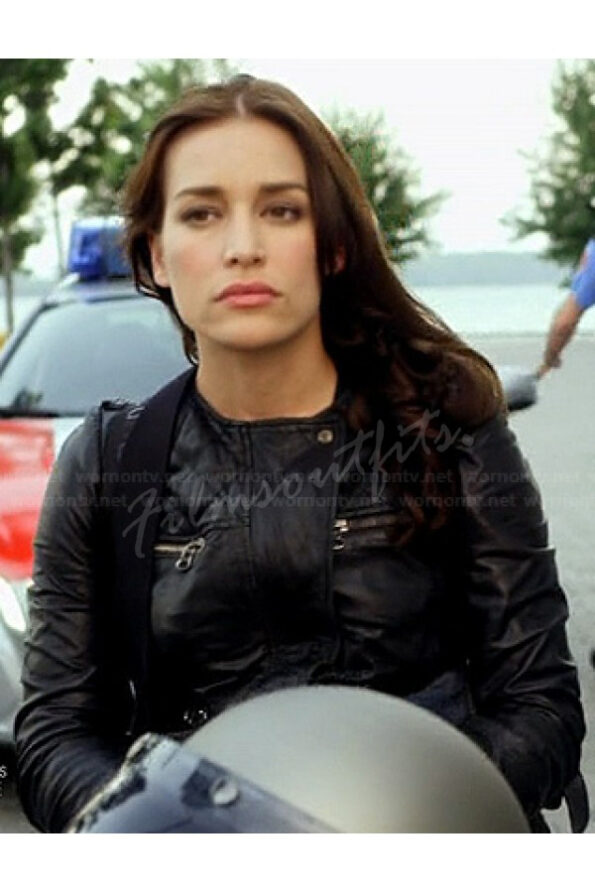 Annie Walker Covert Affairs Piper Perabo Leather Jacket