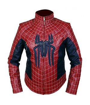 Peter Parker The Amazing Spider Man 2 Leather Jacket