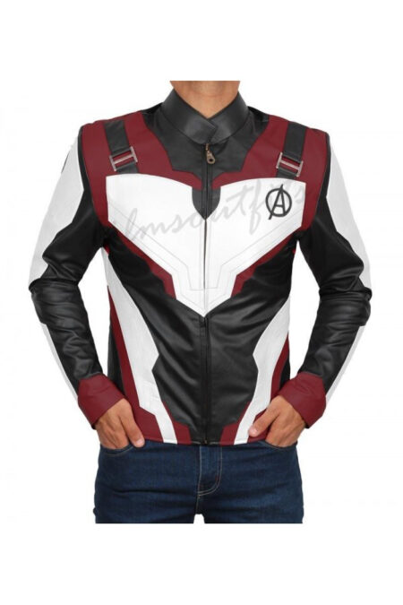 Iron Man Avengers End Game Quantum Leather Jacket