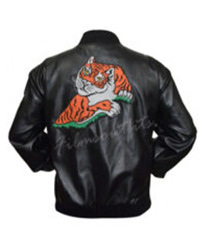 Sylvester Stallone Rocky II Tiger Leather Jacket