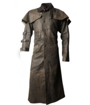 Hellboy Ron Perlman Duster Leather Coat