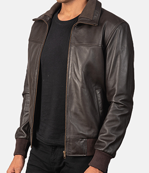 Air-Rolf-Brown-Leather-Bomber-Jacket