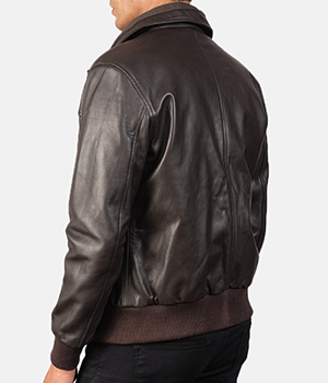 Air-Rolf-Brown-Leather-Bomber-Jacket4