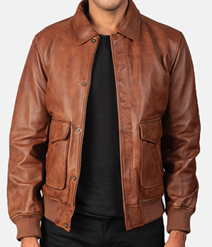 Coffmen-Brown-Leather-Bomber-Jacket2