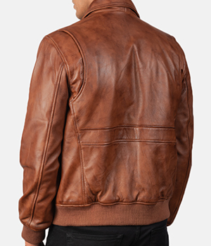 Coffmen-Brown-Leather-Bomber-Jacket3