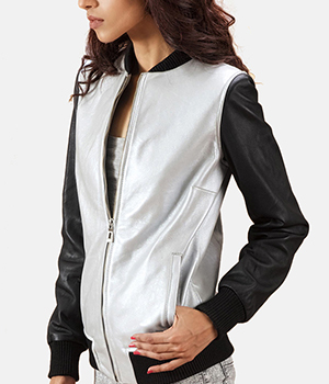 Cole-Silver-Leather-Bomber-Jacket