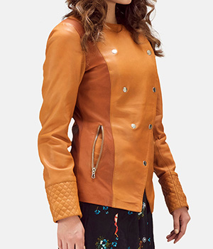 County-Tan-Overlap-Leather-Jacket