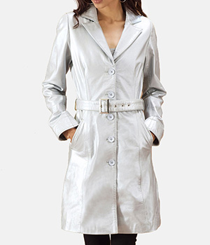 Moonlight-Silver-Leather-Trench-Coat