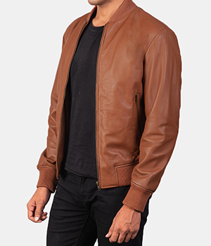 Shane-Brown-Leather-Bomber-Jacket1