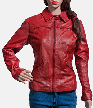 Tomachi-Red-Leather-Jacket