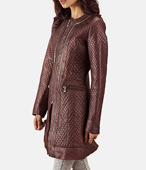 Trudy-Lane-Quilted-Maroon-Leather-Coat2