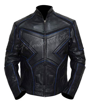 Logan X-Men The Last Stand Wolverine Striped Leather Jacket